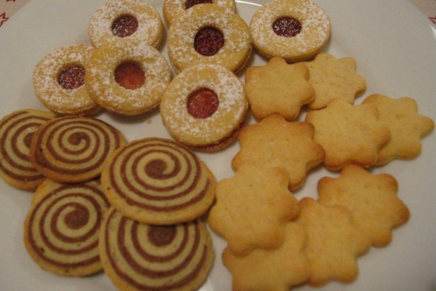 Gute Weihnachtskekse.Weihnachtskekse Mit Mürbteig Südtiroler Bäuerinnenorganisation